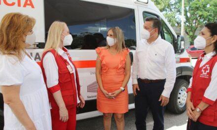 Cruz Roja incorpora ambulancias nuevas y suma 29 en todo Yucatán