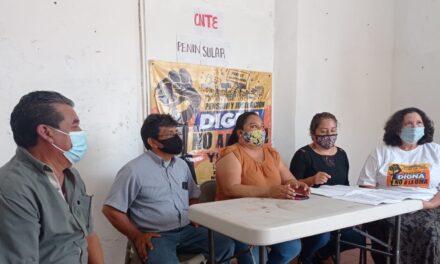 Frente Peninsular contra pensiones y jubilaciones del ISSSTE en UMAs