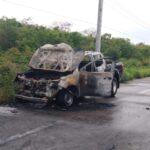 Estrena camioneta y se le quema al segundo día en la Mérida-Progreso