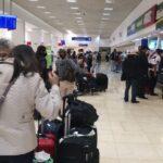 Afecta mal tiempo a unos mil pasajeros en Aeropuerto de Mérida