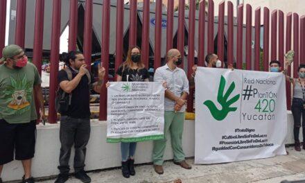 Fuman marihuana en público para festejar resolución de Suprema Corte