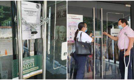 A resguardo oficinas, bodegas y vehículos de Bienestar en Yucatán