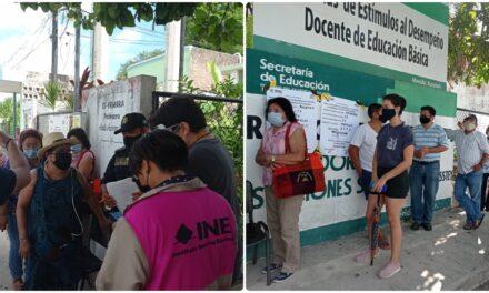 Incidentes menores y quejas de partidos políticos en municipios de Yucatán