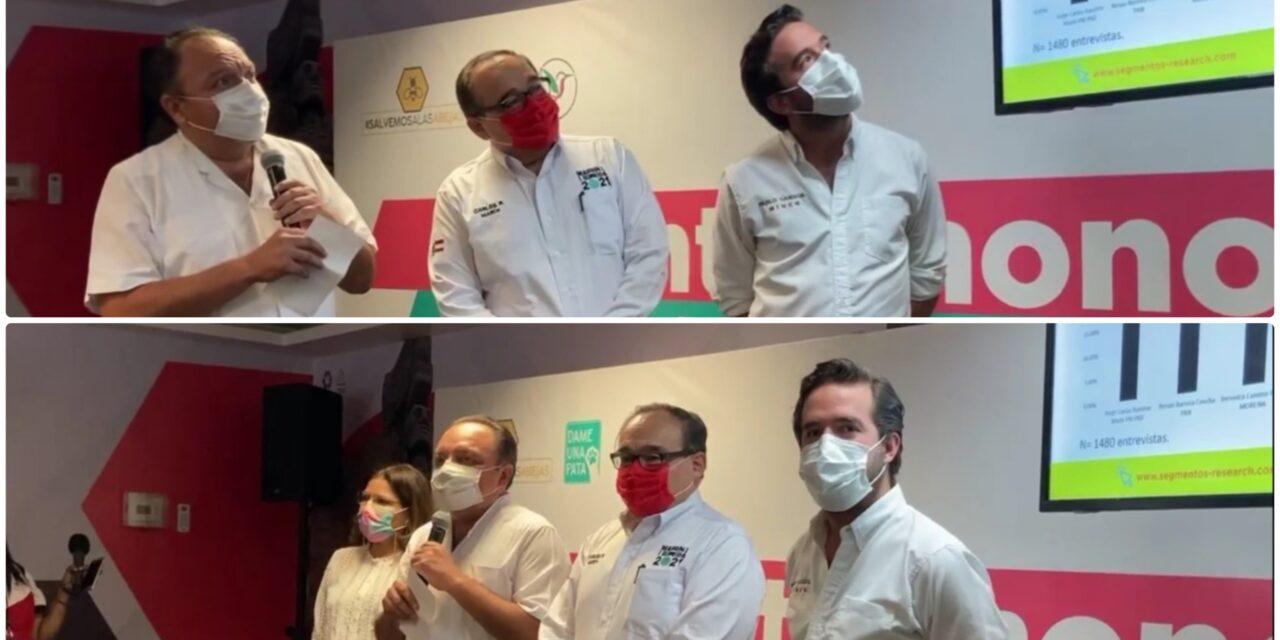 Según PRI, Ramírez Marín adelante en Mérida; cifras de otras encuestas