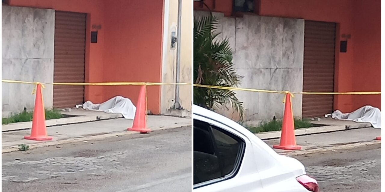 Adulto 'en situación de calle', muerto en centro de Mérida