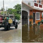 Familias afectadas en Progreso reciben ayuda de Gobierno y Sedena