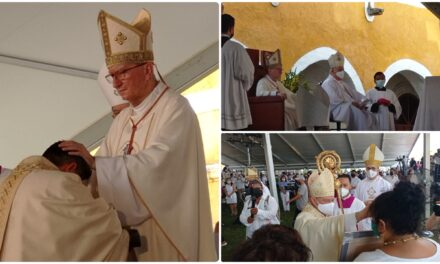 Obispo Emilio Fermín Sosa Rodríguez, embajador del Papa Francisco