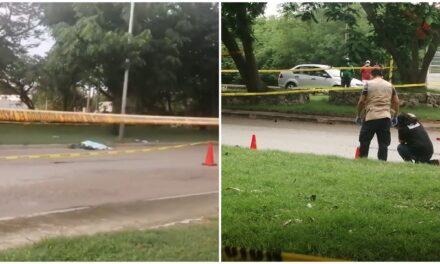 Camión mata a peatón en Ciudad Industrial de Mérida y huye
