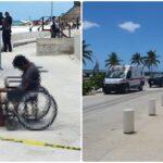 Indigente muere frente al mar, en el malecón de Progreso