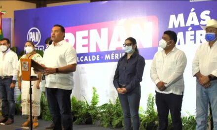 Se amplía ventaja de Renán Barrera Concha en Mérida; los datos del PAN