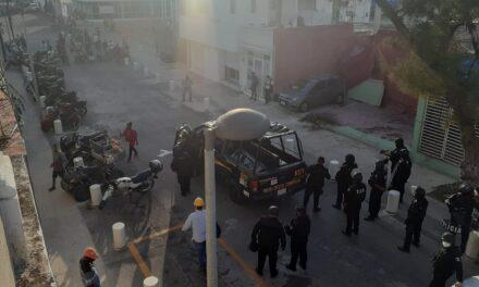 Desalojan bloqueo en Puerto de Altura de Progreso