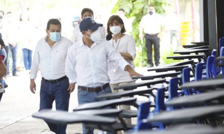 Reacondicionan escuelas yucatecas para regreso a clases presenciales