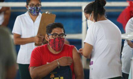 En 63 municipios de Yucatán vacunación a grupo de 40-49 años a partir del próximo lunes