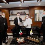 Envía Vila carta de invitación al Papa Francisco para visitar Yucatán