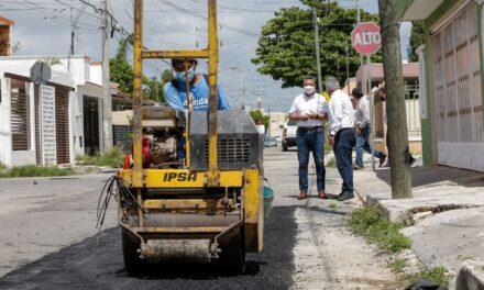 Reportes por baches en Mérida: 82% reparados en menos de 72 horas, dice Ayuntamiento