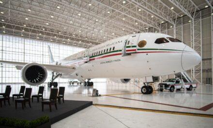 """Avión presidencial, para viajes privados o fiestas """"Super-Vip"""""""