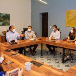 Regidores (as) electos por Mérida, en primer encuentro con Renán Barrera