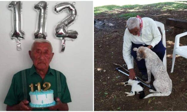 """Despiden en San Felipe a """"Don Chep"""", abuelo de 112 años"""