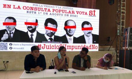 Reviven pugnas de Morena en asamblea sobre juicio a expresidentes