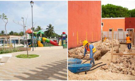 Arrancan obras en cinco municipios de Yucatán por Tren Maya