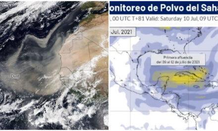 Polvo del Sahara llegaría el viernes a península de Yucatán