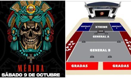 Guns N' Roses en Mérida, sin permisos municipales ni estatales
