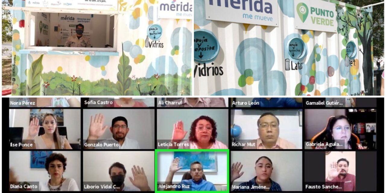Los 185 Puntos Verdes en Mérida se ampliarán a otras zonas