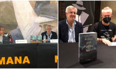Llega a Gijón lo negro del cambio climático con italiano Bruno Arpaia