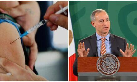 """Vacunación a niños, dosis de refuerzo y """"variantes"""", según López-Gatell"""