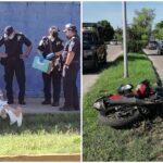 Camioneta de SSP-Yucatán golpea a enfermera motociclista y huye