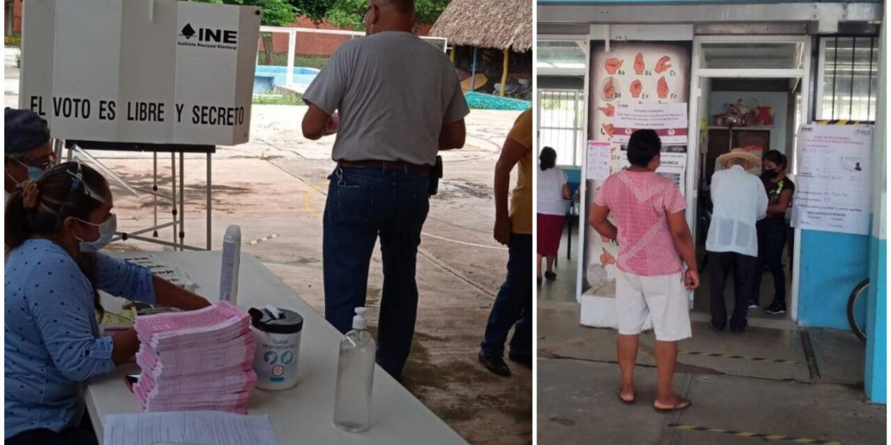 """Escasa participación de yucatecos en consulta popular; gana el """"sí"""""""