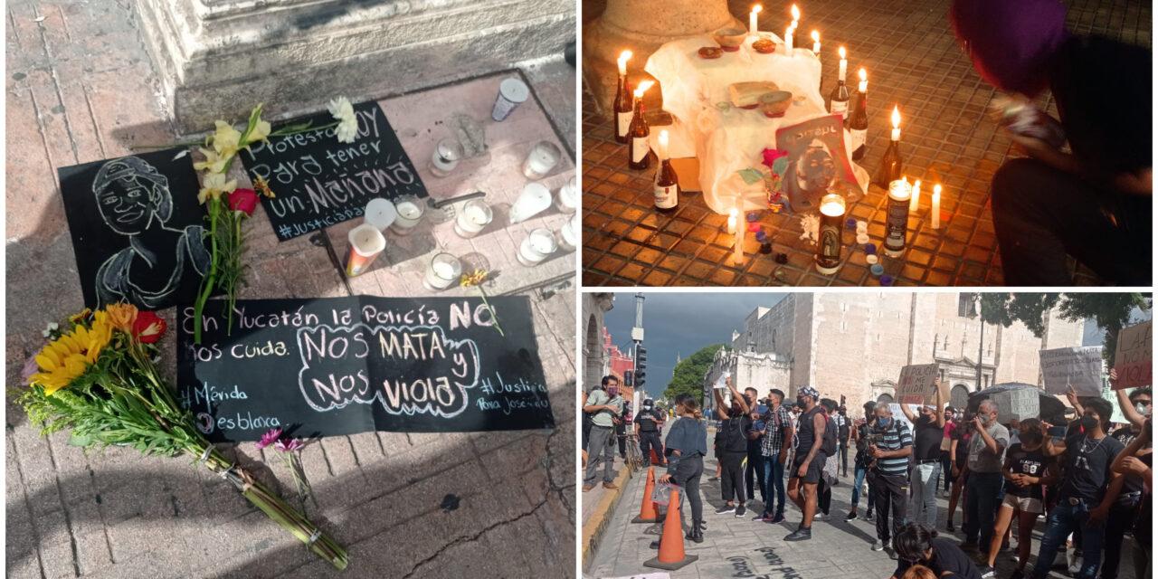 """Jóvenes gritan """"¡ya basta!"""" y exigen justicia para José Eduardo"""