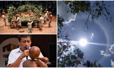 """Con temor y respeto viven comunidades mayas el """"Chak ik aal"""" o ciclones"""