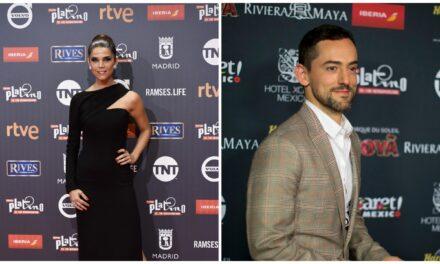 La colombiana Juana Acosta y el mexicano Luis Gerardo Méndez conducirán gala de los Premios Platino