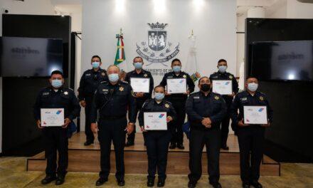 En Mérida 66.1 por ciento confía en Policía Municipal; detención y reconocimiento