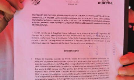 Ejidatarios de Chablekal recibirán 79.5 mdp por tierras y explotarán Dzibilchaltún… 'vamos ganando'