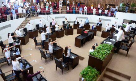 Asumen 25 diputados del nuevo Congreso local y fijan prioridades