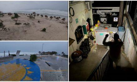 """""""Grace"""" deja sin luz a casi 150 mil personas en Quintana Roo"""