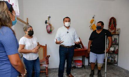 Ventanilla para programa de Mejora de Vivienda en Mérida, este viernes