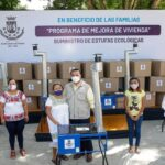 Familias de comisaría de Dzununcán reciben 40 estufas ecológicas