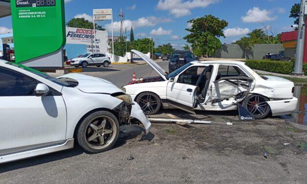 Pesadilla para familia en San Antonio Kaua III: auto chocado y ellos lesionados