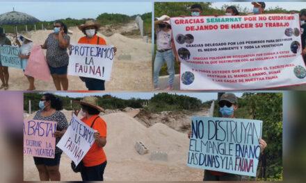 Conflicto por terreno en puerto Santa Clara involucra a funcionarios