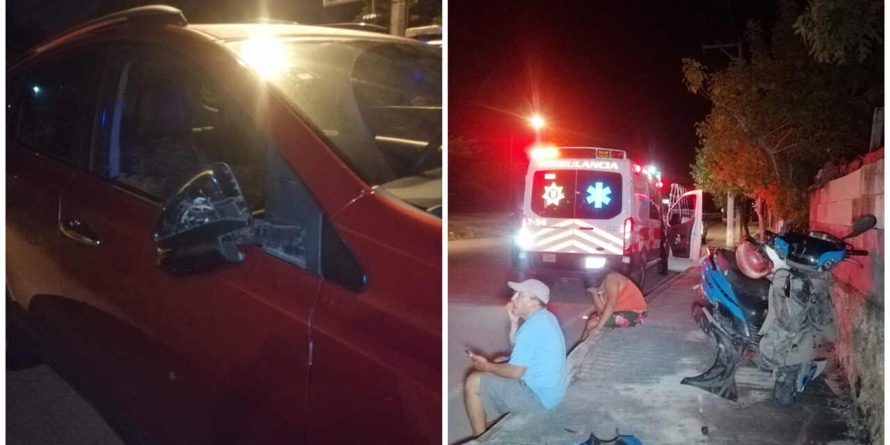 Ebrio choca camioneta contra ambulancia que atendía a heridos en periférico