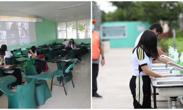 Docentes calculan 10 por ciento de alumnos en clases presenciales