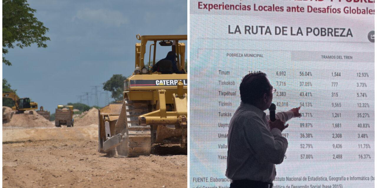 Académico duda de supuestos beneficios sociales del Tren Maya