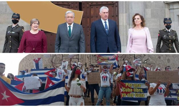 Díaz-Canel representa la represión y la falta de libertades.- cubanos en Mérida