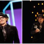 Agradece Johnny Depp apoyo al recibir Premio Donostia en medio de polémica