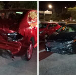 Tres carambolas en puente de City Center: 10 autos dañados