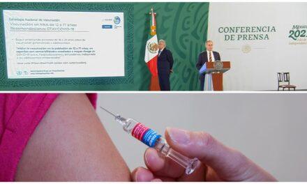 Vacunación a niños y adolescentes con comorbilidades, en octubre