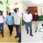 Entrega Vila apoyos a productores y familias de Yaxcabá